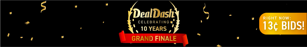 DD 10 grand finale: Bids now only 13 cents each!