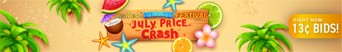 July Price Crash: Bids now only 13 cents each!